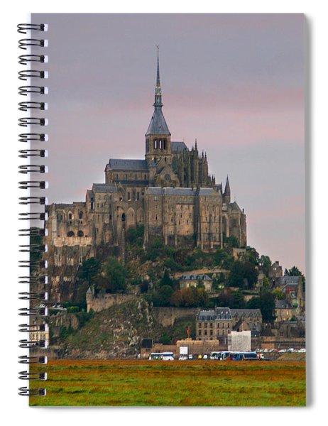 Mont Saint Michel Spiral Notebook