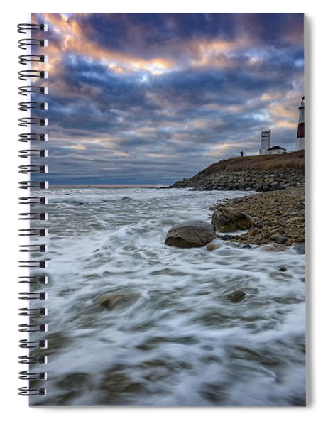 Montauk Morning Spiral Notebook