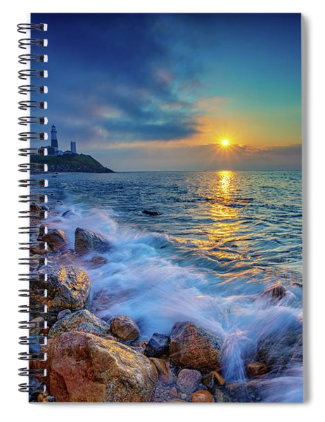 Montauk Sunrise Spiral Notebook