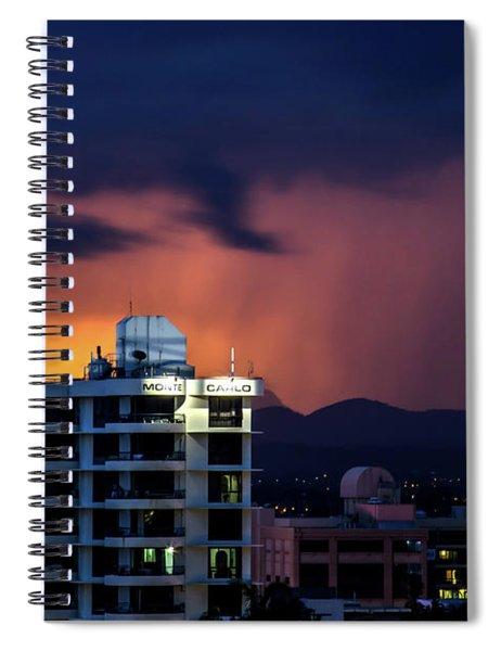 Monte Carlo Moods Spiral Notebook