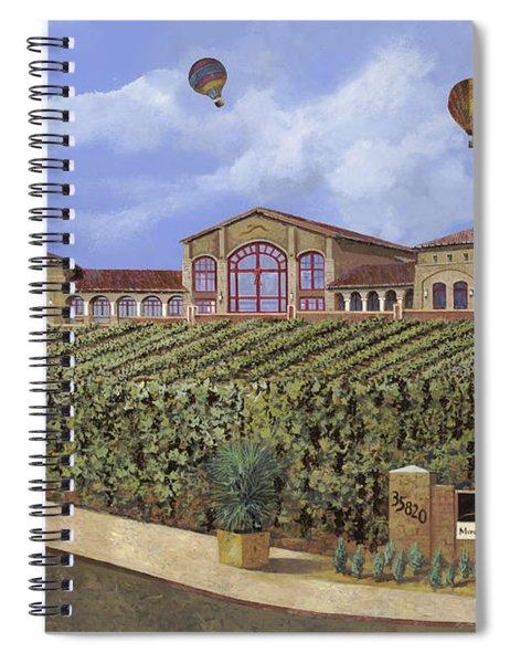 Monte De Oro And The Air Balloons Spiral Notebook