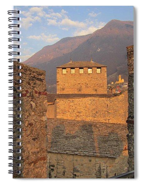 Montebello - Bellinzona, Switzerland Spiral Notebook