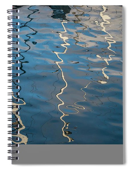 Monterey Reflection I Color Spiral Notebook