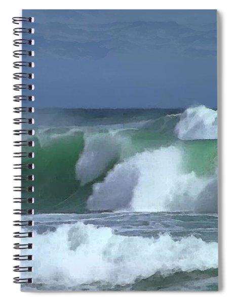 Monterey Surf Spiral Notebook