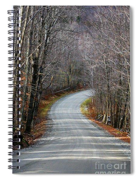 Montgomery Mountain Rd. Spiral Notebook