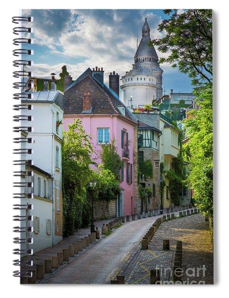 Montmartre Hill Spiral Notebook