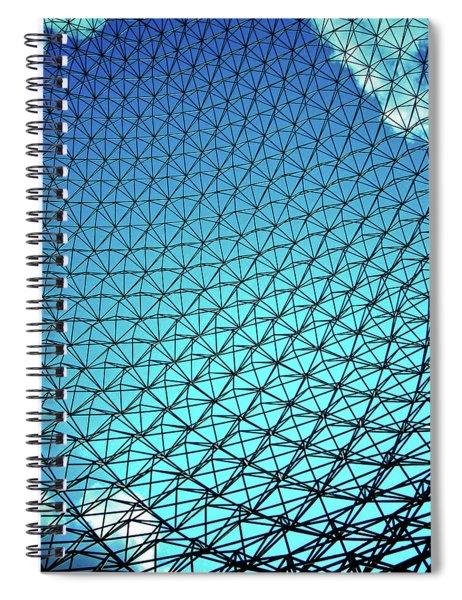 Montreal Biosphere Spiral Notebook