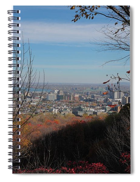 Montreal Spiral Notebook