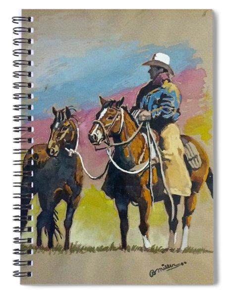 Monty Roberts Spiral Notebook
