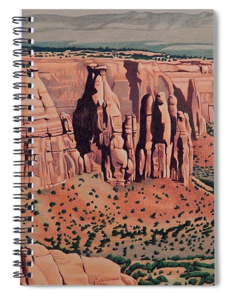 Monument Canyon Spiral Notebook