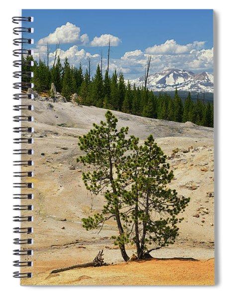 Monument Geyser Basin Spiral Notebook by Greg Norrell