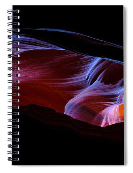Monument Light Spiral Notebook
