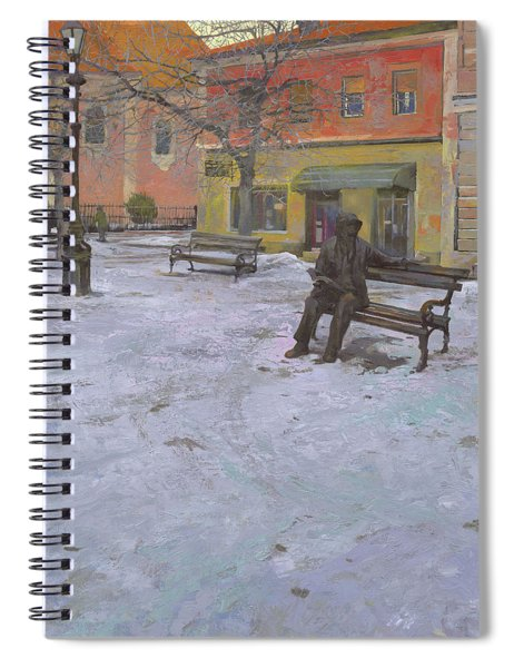 Monument Of Laza Costic In Sombor Spiral Notebook