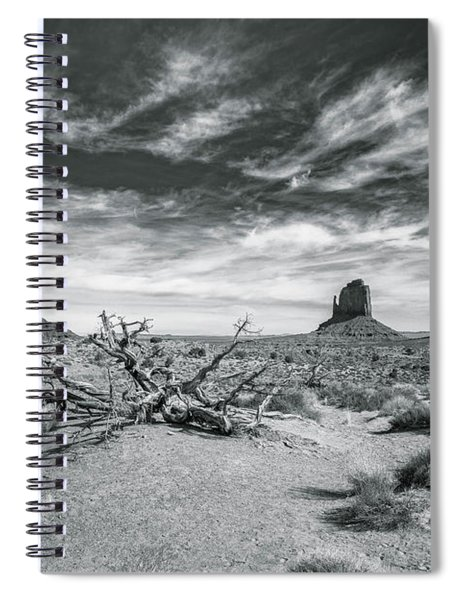 Monument Valley Spiral Notebook by Lou Novick