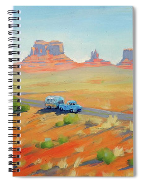Monument Valley Vintage Spiral Notebook