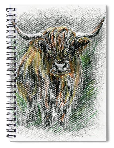 Moo Spiral Notebook