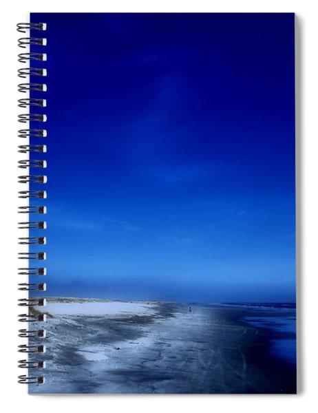 Mood Of A Beach Evening - Jersey Shore Spiral Notebook