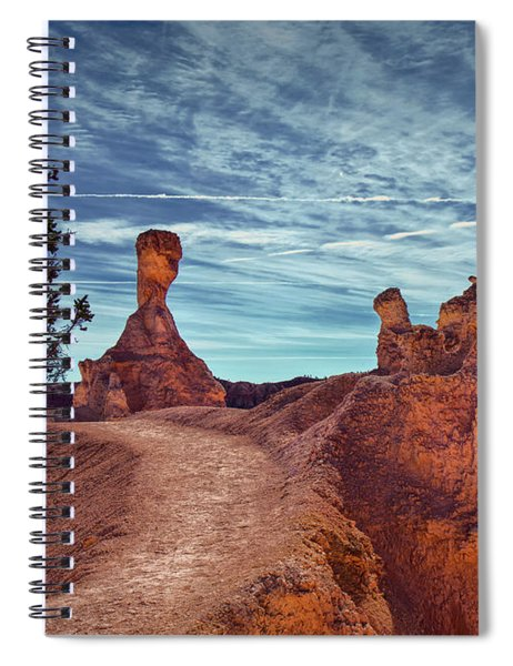 Moods Of Bryce Spiral Notebook