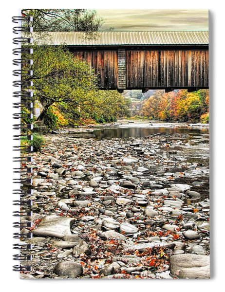 Moody Autumn Day Spiral Notebook