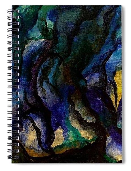 Moody Bleu Spiral Notebook