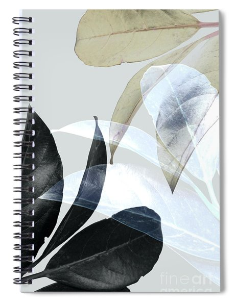 Moody Leaves Spiral Notebook
