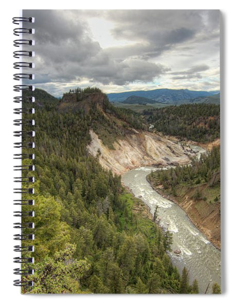 Moody Yellowstone Spiral Notebook