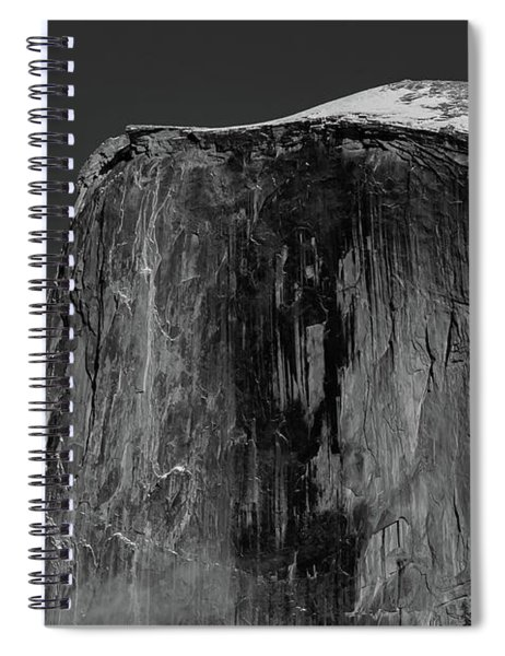 Moon And Half Dome Spiral Notebook