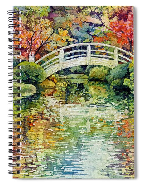 Moon Bridge Spiral Notebook