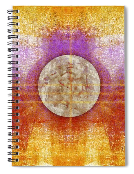 Moon Colors Spiral Notebook