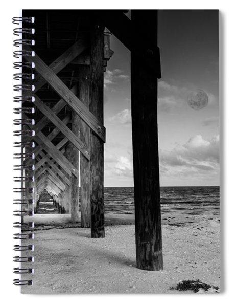 Moon Deck Spiral Notebook