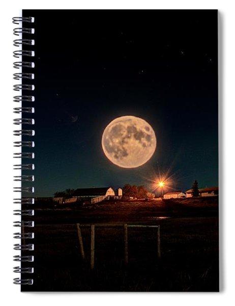 Moon Farm Spiral Notebook