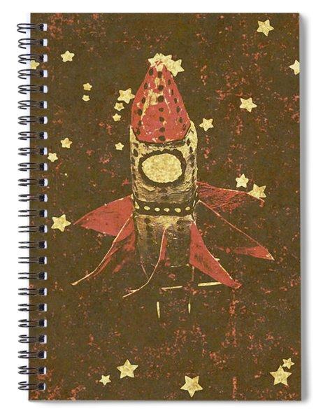 Moon Landings And Childhood Memories Spiral Notebook