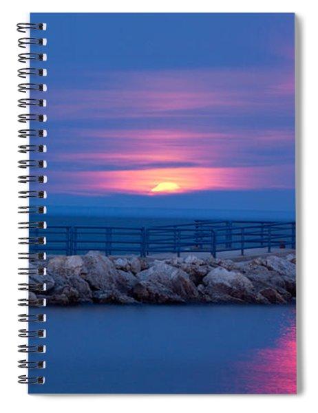 Moon Marker Spiral Notebook