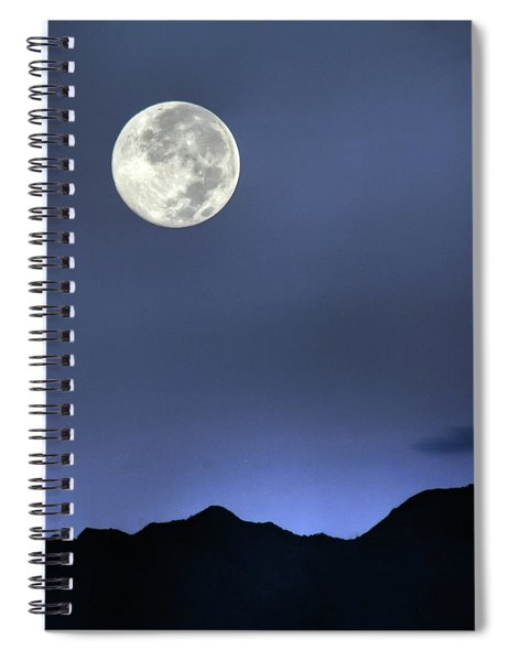 Moon Over Ko'olau Spiral Notebook