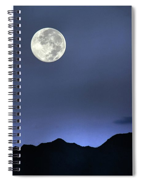 Moon Over Ko'olau Spiral Notebook