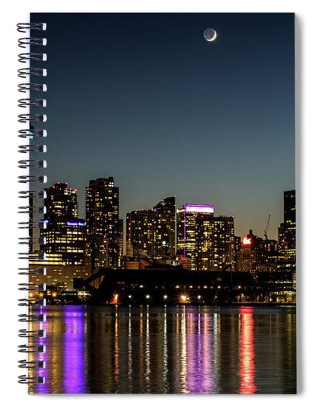 Moon Over Toronto Spiral Notebook