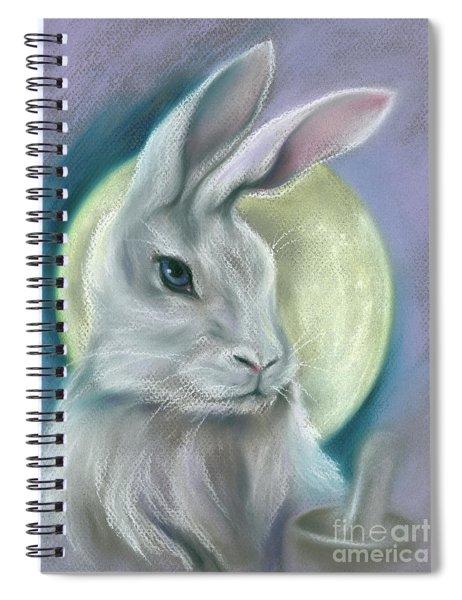 Moon Rabbit Spiral Notebook