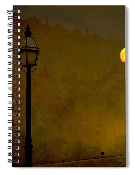 Moon Walker Spiral Notebook