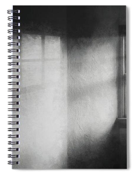Moonbeams On The Attic Window Spiral Notebook