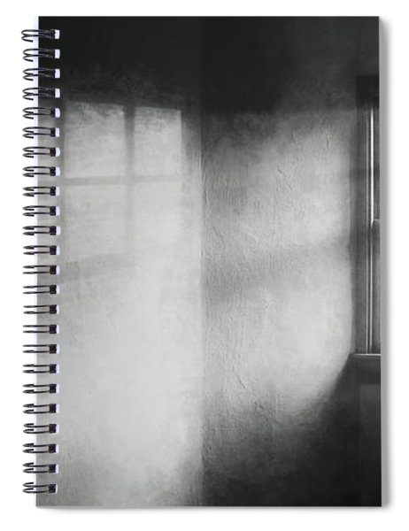 Moonbeams On The Attic Window Spiral Notebook