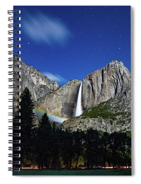 Moonbow And Louds  Spiral Notebook