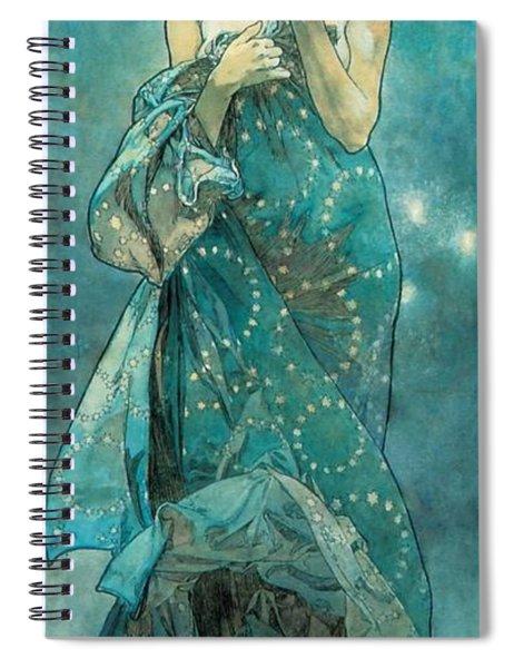 Moonlight Spiral Notebook