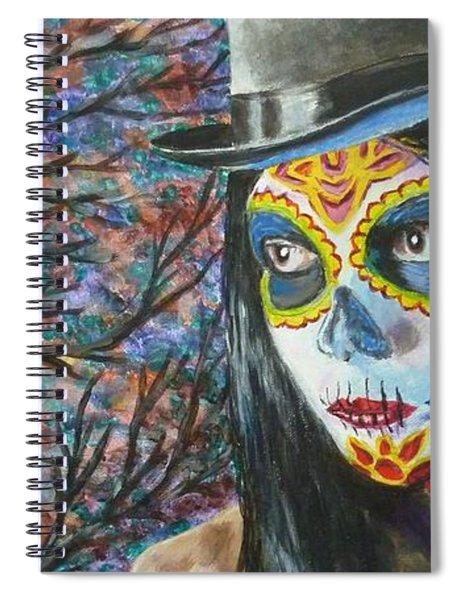 Moonlight Celebration Spiral Notebook