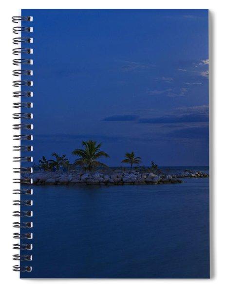 Moonlight Island Spiral Notebook