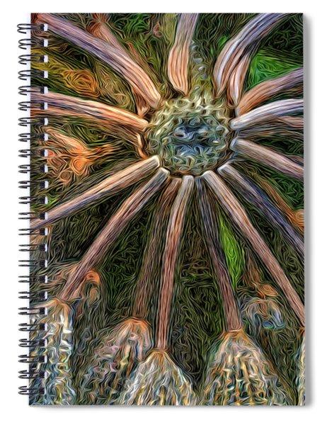 Moonlight Minuet Spiral Notebook