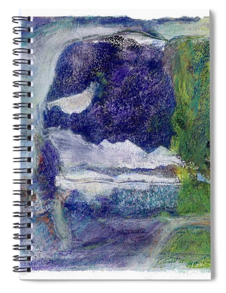 Moonlight Mountain Spiral Notebook