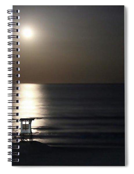 Moonlit Spiral Notebook