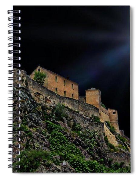 Moonlit Castle Spiral Notebook