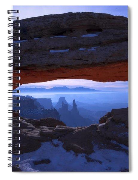 Moonlit Mesa Spiral Notebook