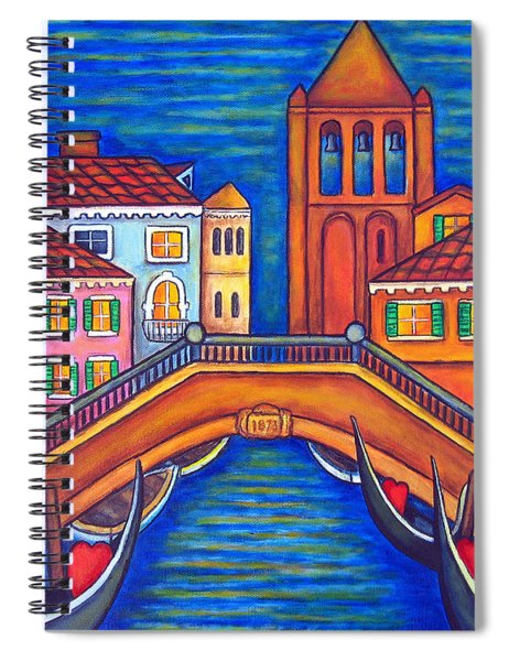Moonlit San Barnaba Spiral Notebook